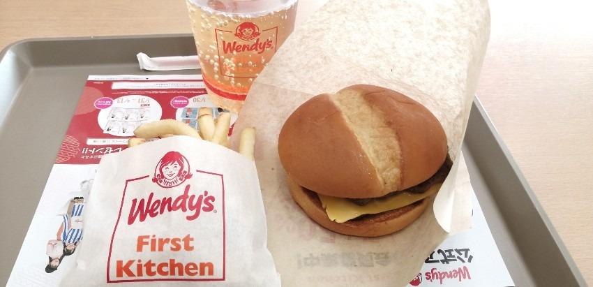 Wendy's First Kitchen | ハッピータイムセットは600円!ダブルスタックを食べてみた